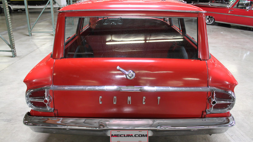 1961 Mercury Comet presented as lot T43 at Anaheim, CA 2012 - image2