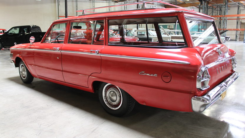 1961 Mercury Comet presented as lot T43 at Anaheim, CA 2012 - image6