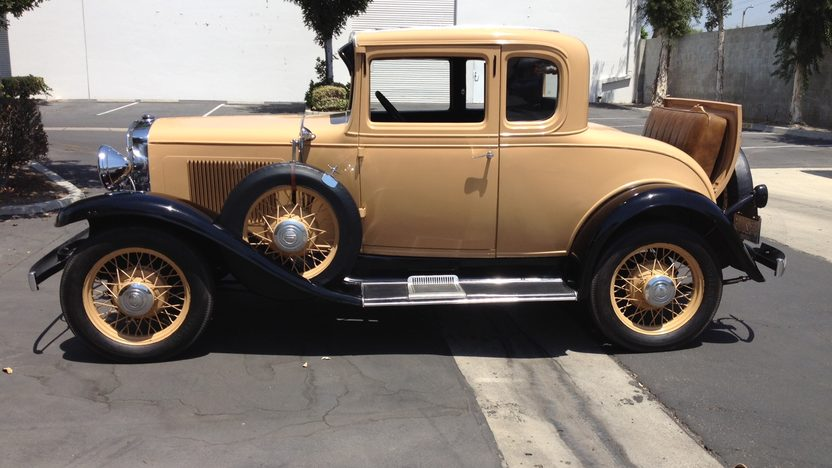 1931 Chevrolet 5 Window Coupe presented as lot T191 at Anaheim, CA 2012 - image2