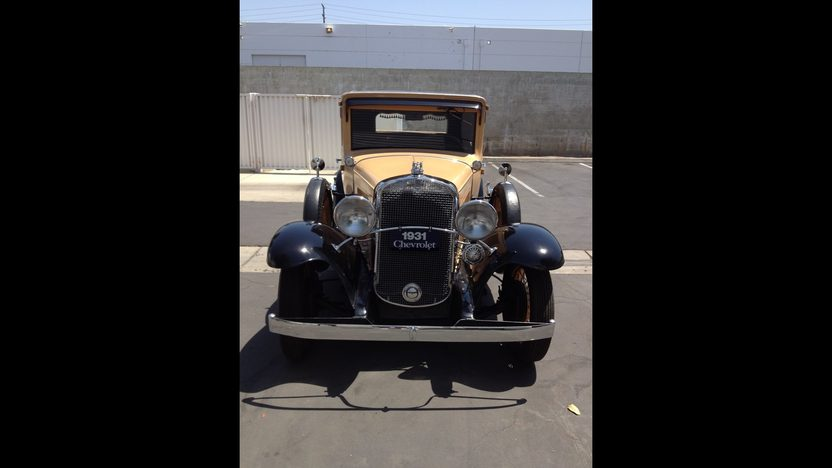 1931 Chevrolet 5 Window Coupe presented as lot T191 at Anaheim, CA 2012 - image7