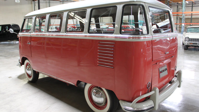 1961 Volkswagen  Bus 4-Speed, Roof Rack presented as lot S53 at Anaheim, CA 2012 - image2