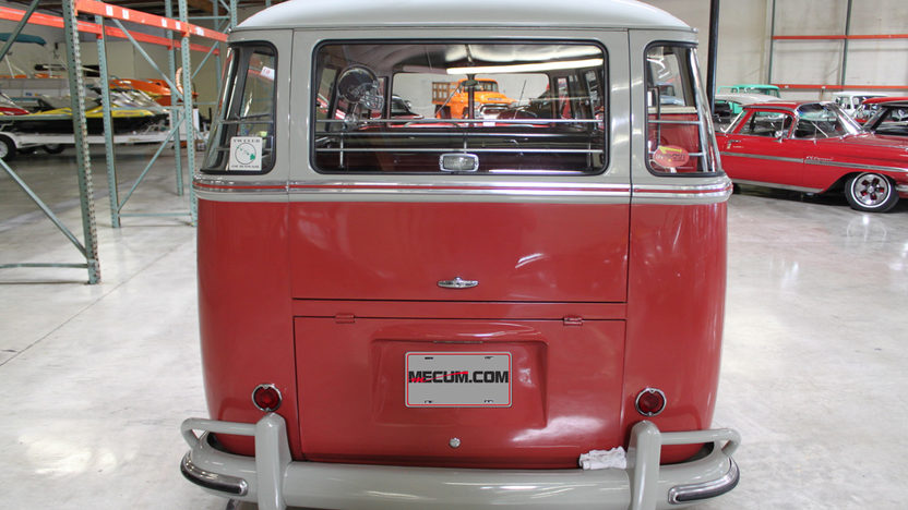 1961 Volkswagen  Bus 4-Speed, Roof Rack presented as lot S53 at Anaheim, CA 2012 - image7
