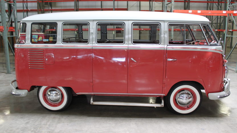 1961 Volkswagen  Bus 4-Speed, Roof Rack presented as lot S53 at Anaheim, CA 2012 - image8