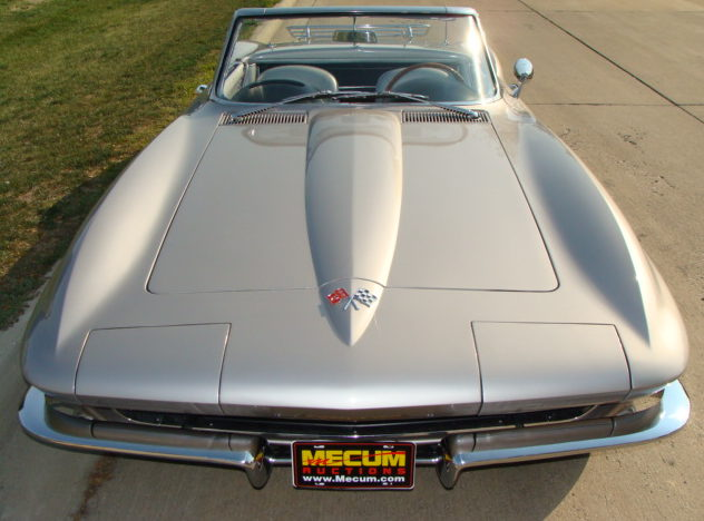 1965 Chevrolet Corvette Convertible 327/300 HP, 4-Speed, Two Tops presented as lot S82 at Anaheim, CA 2012 - image2