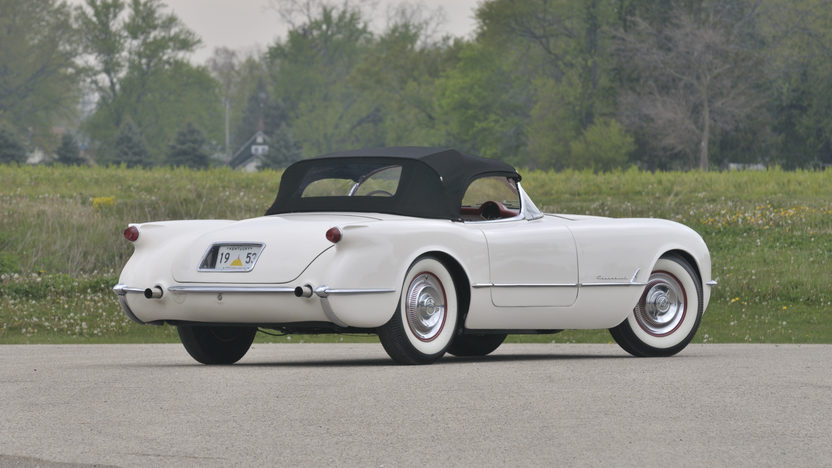1953 Chevrolet Corvette Roadster Gold Spinner Award presented as lot S86 at Anaheim, CA 2012 - image2