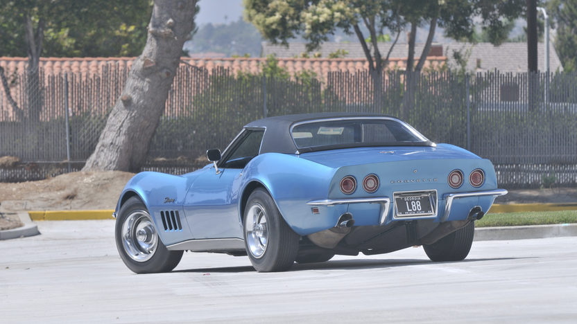 1969 Chevrolet Corvette L88 Convertible Highest Optioned, Most Documented L88 presented as lot S88 at Anaheim, CA 2012 - image3
