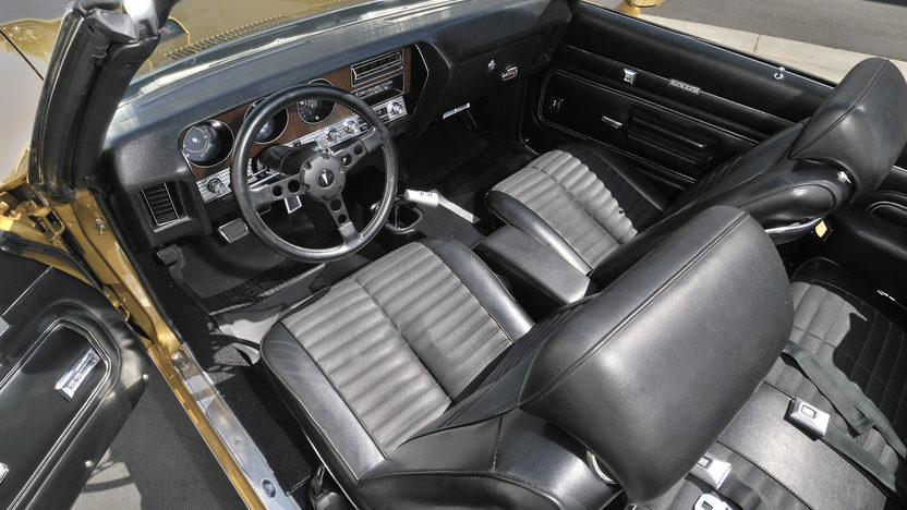 1971 Pontiac GTO Judge Convertible 455 CI, 4-Speed, 1 of 3 Produced presented as lot S94 at Anaheim, CA 2012 - image2