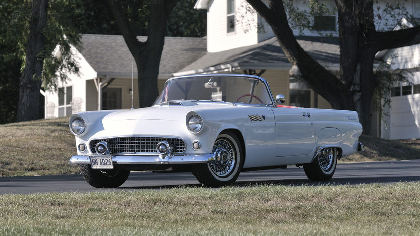 1955 Ford Thunderbird Convertible 292 CI, Automatic presented as lot S96 at Anaheim, CA 2012 - image10
