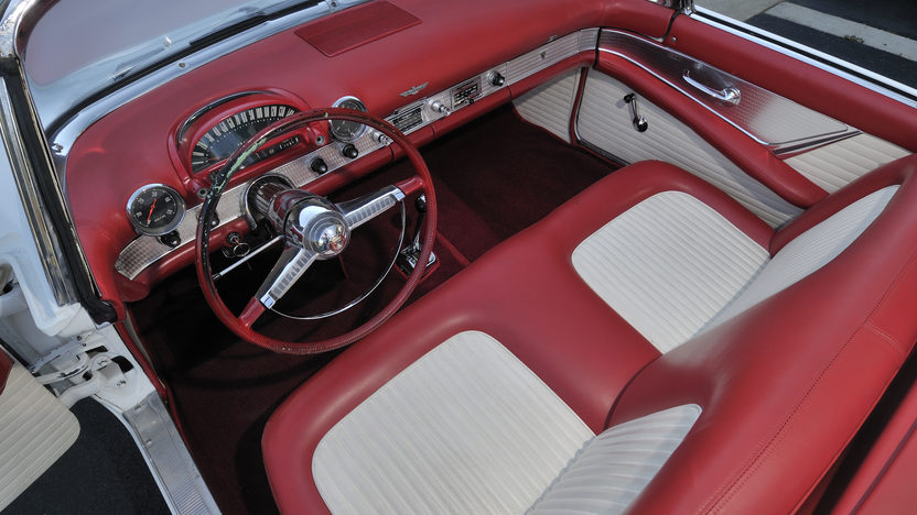 1955 Ford Thunderbird Convertible 292 CI, Automatic presented as lot S96 at Anaheim, CA 2012 - image3