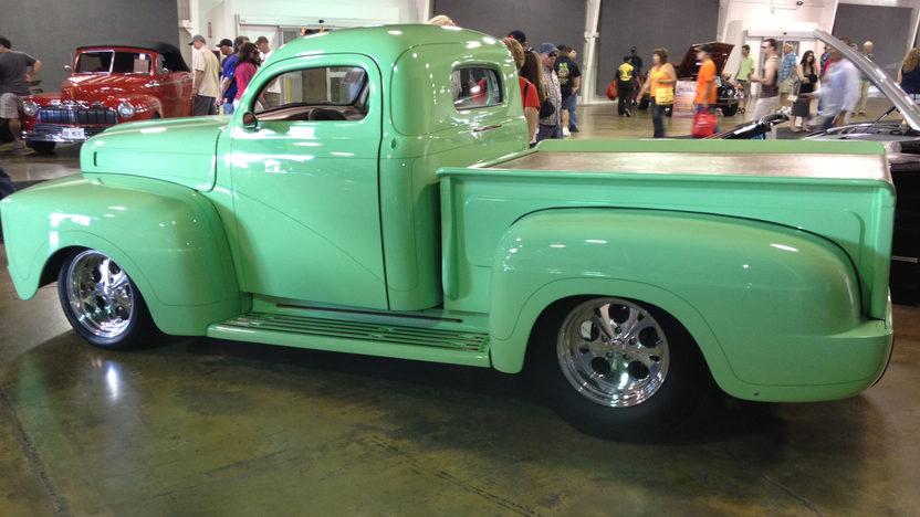 1948 Ford F1 Pickup 500 CI, Fully Customized presented as lot S100 at Anaheim, CA 2012 - image8