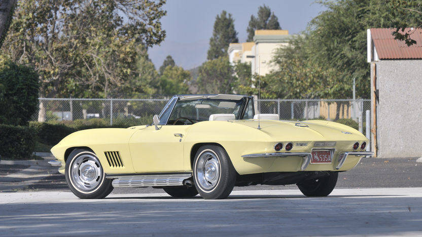 1967 Chevrolet Corvette Convertible 427/435 HP, Bloomington Gold Survivor presented as lot S104 at Anaheim, CA 2012 - image12