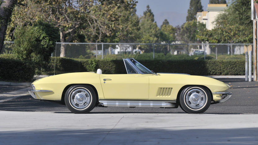 1967 Chevrolet Corvette Convertible 427/435 HP, Bloomington Gold Survivor presented as lot S104 at Anaheim, CA 2012 - image2