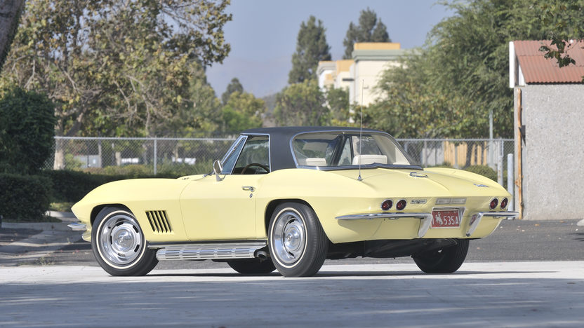 1967 Chevrolet Corvette Convertible 427/435 HP, Bloomington Gold Survivor presented as lot S104 at Anaheim, CA 2012 - image3