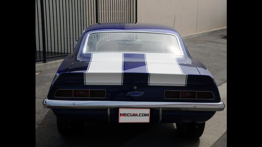 1969 Chevrolet Camaro 502/500 HP, 4-Speed presented as lot S110 at Anaheim, CA 2012 - image3