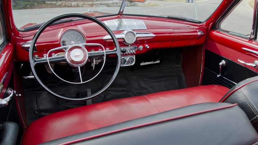 1950 Ford Custom Convertible Original Engine, Continental Kit presented as lot S114 at Anaheim, CA 2012 - image3