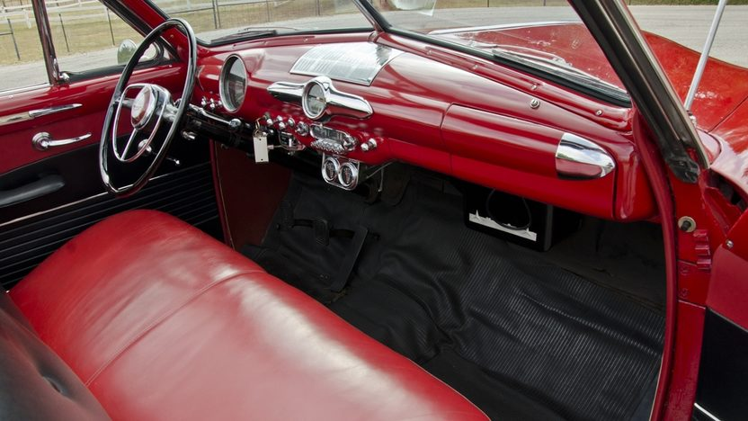 1950 Ford Custom Convertible Original Engine, Continental Kit presented as lot S114 at Anaheim, CA 2012 - image4