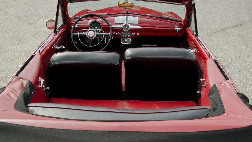 1950 Ford Custom Convertible Original Engine, Continental Kit presented as lot S114 at Anaheim, CA 2012 - image5