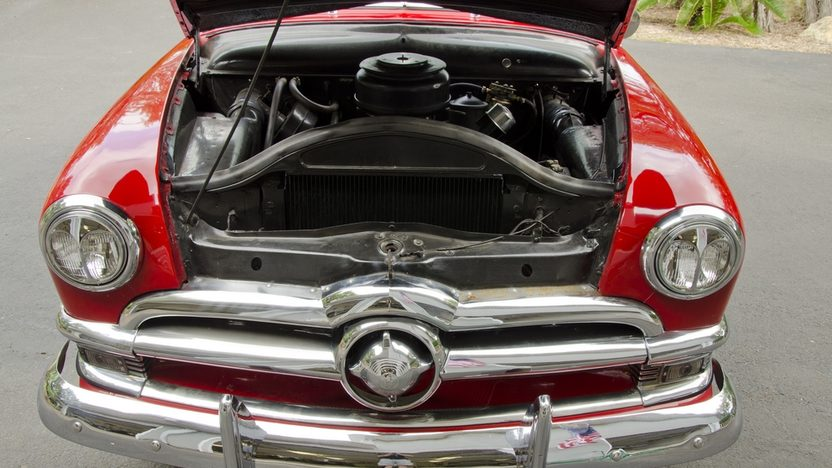 1950 Ford Custom Convertible Original Engine, Continental Kit presented as lot S114 at Anaheim, CA 2012 - image7