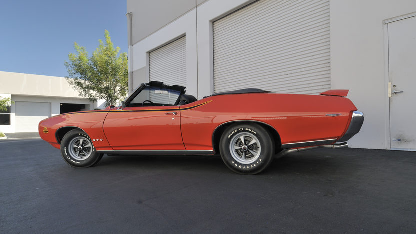 1969 Pontiac GTO Judge Convertible Numbers Matching, Rotisserie Restored presented as lot S123 at Anaheim, CA 2012 - image2