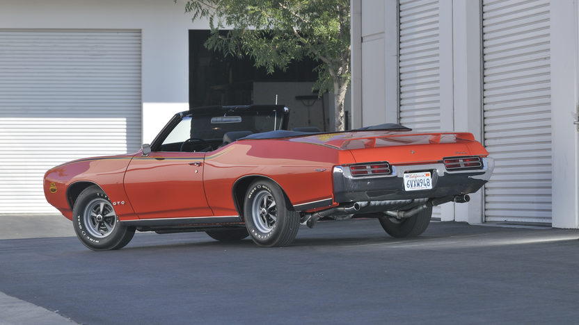 1969 Pontiac GTO Judge Convertible Numbers Matching, Rotisserie Restored presented as lot S123 at Anaheim, CA 2012 - image8