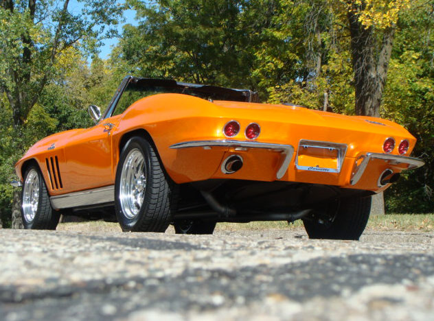 1966 Chevrolet Corvette Convertible Resto Mod, 502/502 HP, 5-Speed presented as lot S126 at Anaheim, CA 2012 - image2