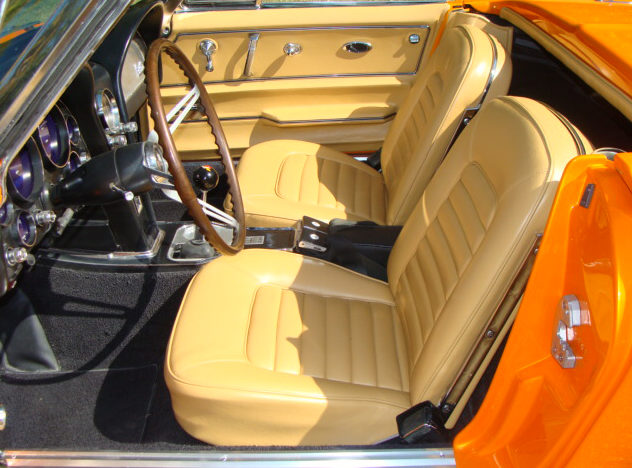 1966 Chevrolet Corvette Convertible Resto Mod, 502/502 HP, 5-Speed presented as lot S126 at Anaheim, CA 2012 - image3