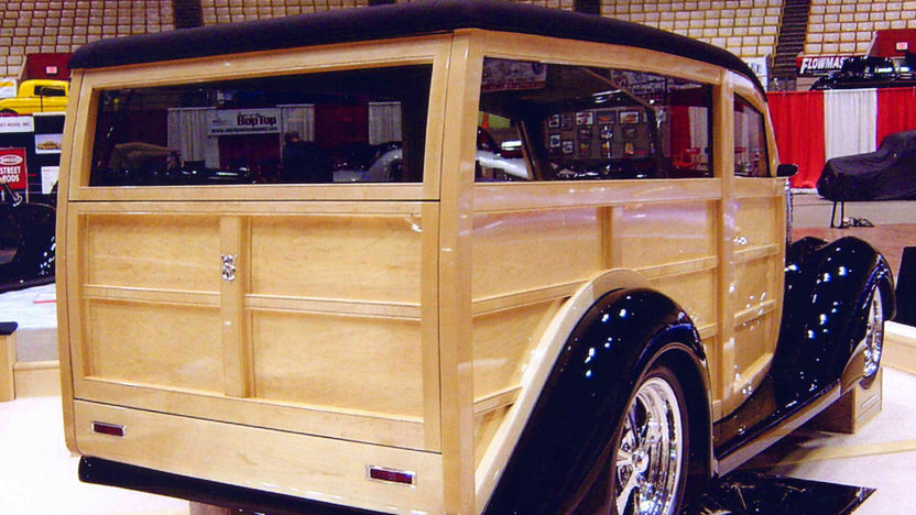 1937 Ford Woody Wagon 355 CI, Show Winner presented as lot S137 at Anaheim, CA 2012 - image2