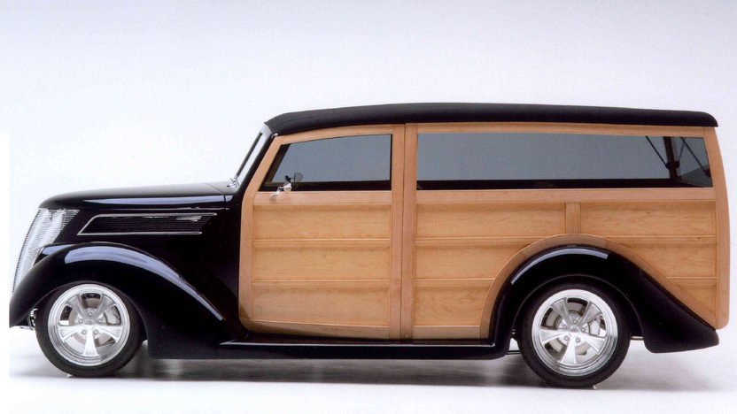 1937 Ford Woody Wagon 355 CI, Show Winner presented as lot S137 at Anaheim, CA 2012 - image6