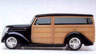 1937 Ford Woody Wagon 355 CI, Show Winner presented as lot S137 at Anaheim, CA 2012 - thumbail image6