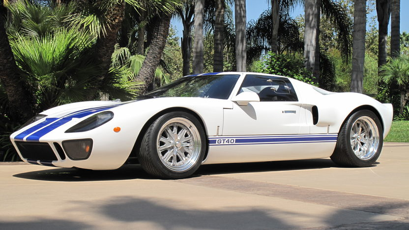 1966 Ford GT40 Replica 351 CI, 5-Speed presented as lot S140 at Anaheim, CA 2012 - image6