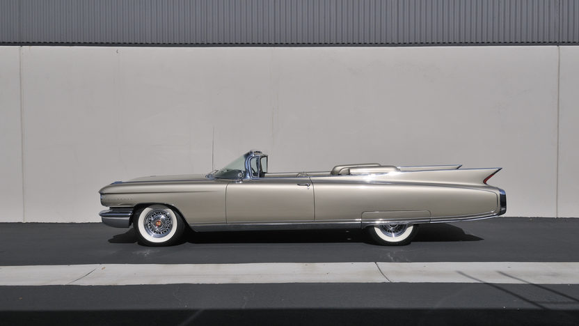 1960 Cadillac Eldorado Biarritz Convertible 1 of 1,285 Produced presented as lot S144 at Anaheim, CA 2012 - image12