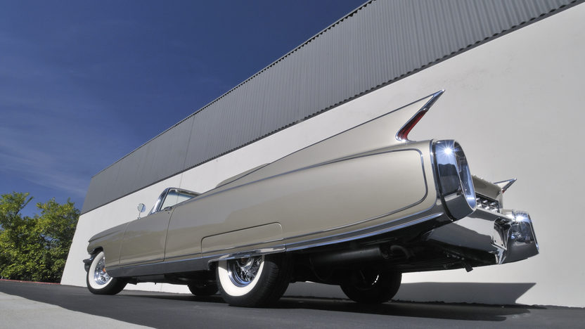1960 Cadillac Eldorado Biarritz Convertible 1 of 1,285 Produced presented as lot S144 at Anaheim, CA 2012 - image6