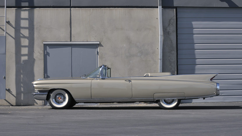 1960 Cadillac Eldorado Biarritz Convertible 1 of 1,285 Produced presented as lot S144 at Anaheim, CA 2012 - image8