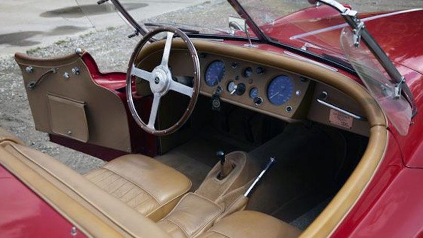 1957 Jaguar XK140 Roadster presented as lot S146 at Anaheim, CA 2012 - image2