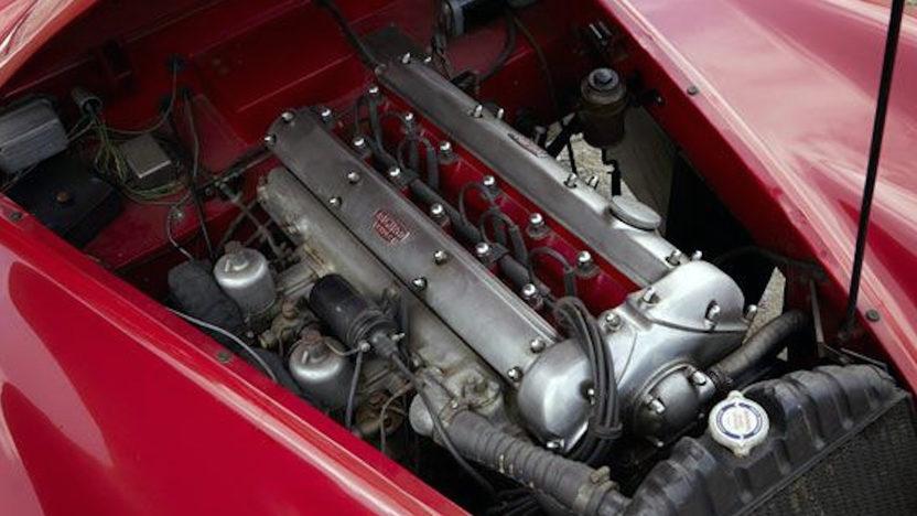 1957 Jaguar XK140 Roadster presented as lot S146 at Anaheim, CA 2012 - image3