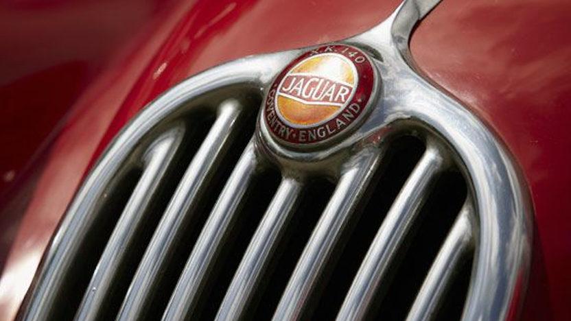 1957 Jaguar XK140 Roadster presented as lot S146 at Anaheim, CA 2012 - image5