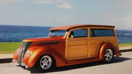 1937 Ford Woody 350/275 HP, Automatic presented as lot S148 at Anaheim, CA 2012 - thumbail image6