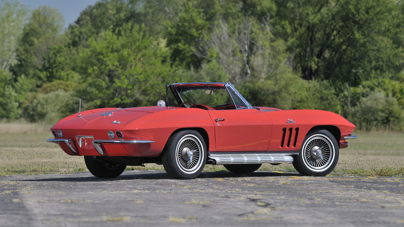 1966 Chevrolet Corvette Convertible 427/450 HP, 4-Speed, NCRS Top Flight presented as lot S149 at Anaheim, CA 2012 - image2