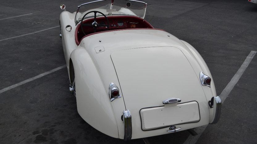 1954 Jaguar XK120 Roadster 3442 CC, 4-Speed presented as lot S150 at Anaheim, CA 2012 - image2