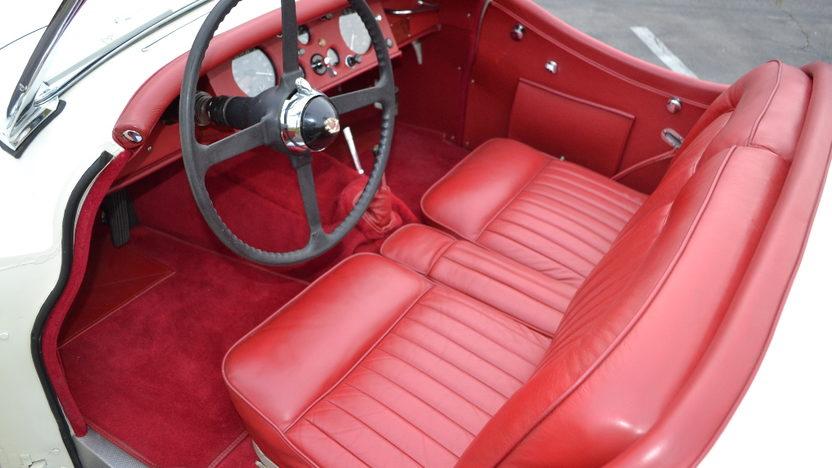 1954 Jaguar XK120 Roadster 3442 CC, 4-Speed presented as lot S150 at Anaheim, CA 2012 - image3