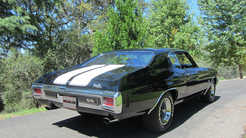 1970 Chevrolet Chevelle SS Hardtop 454/450 HP, 4-Speed presented as lot S152 at Anaheim, CA 2012 - image2