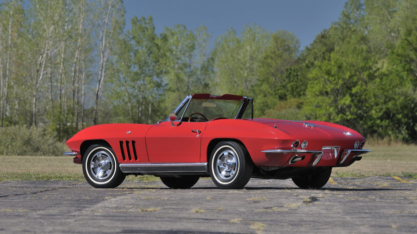 1966 Chevrolet Corvette Convertible 327/300 HP, 4-Speed, Factory Air presented as lot S154 at Anaheim, CA 2012 - image2