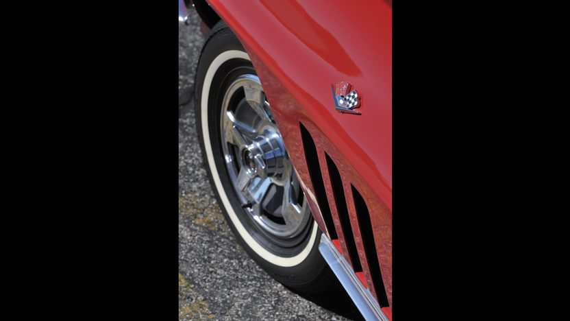 1966 Chevrolet Corvette Convertible 327/300 HP, 4-Speed, Factory Air presented as lot S154 at Anaheim, CA 2012 - image7