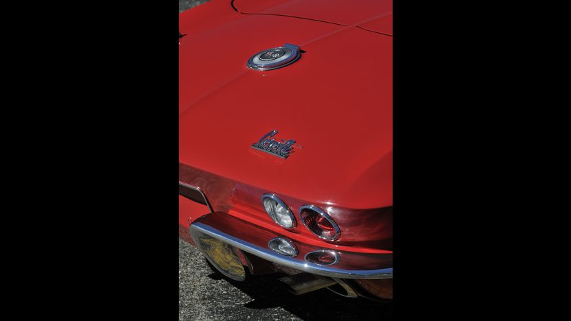1966 Chevrolet Corvette Convertible 327/300 HP, 4-Speed, Factory Air presented as lot S154 at Anaheim, CA 2012 - image9
