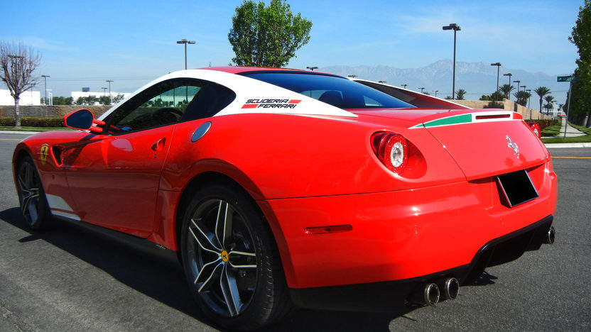 2011 Ferrari 599 GTB Fiorano 60F1 Edition 65 Actual Miles presented as lot S166 at Anaheim, CA 2012 - image2