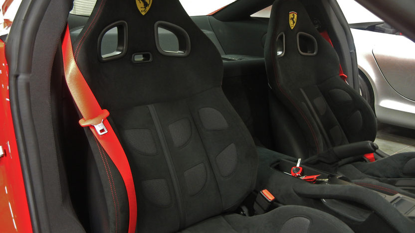 2011 Ferrari 599 GTB Fiorano 60F1 Edition 65 Actual Miles presented as lot S166 at Anaheim, CA 2012 - image4