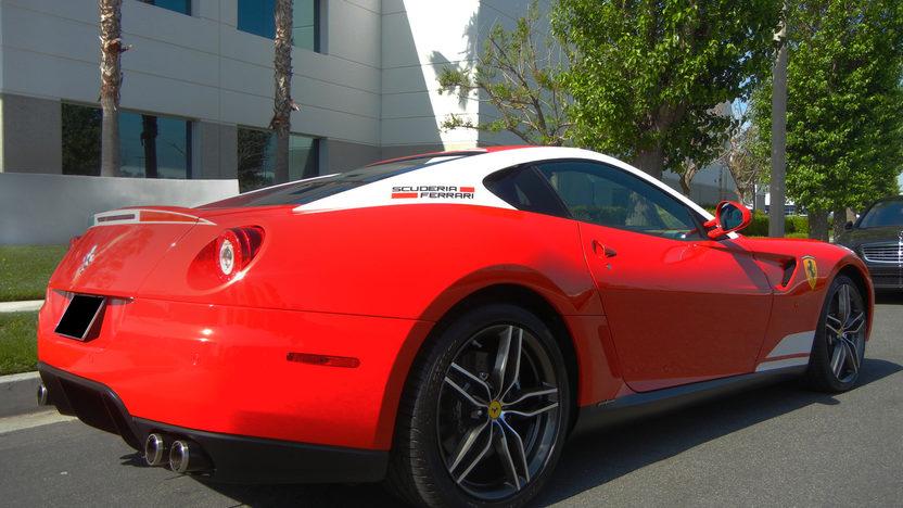 2011 Ferrari 599 GTB Fiorano 60F1 Edition 65 Actual Miles presented as lot S166 at Anaheim, CA 2012 - image8