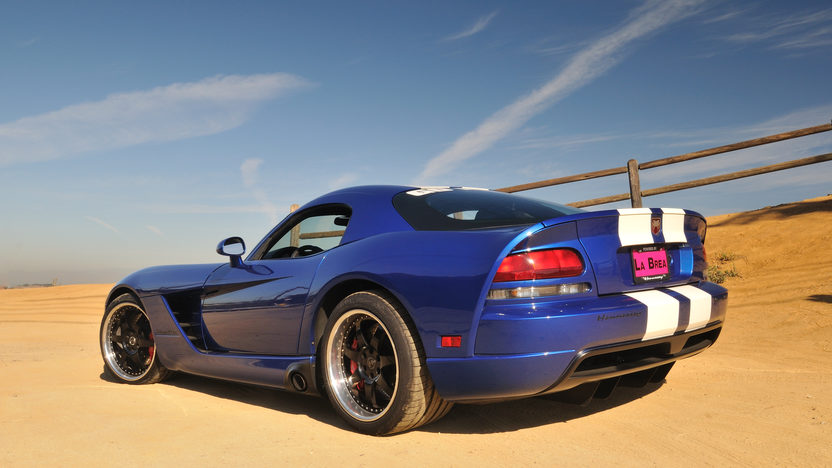 2006 Dodge Viper SRT/10 Coupe First Edition Hennessey Prepared 'Fly Navy' Venom 1000 presented as lot S169 at Anaheim, CA 2012 - image11