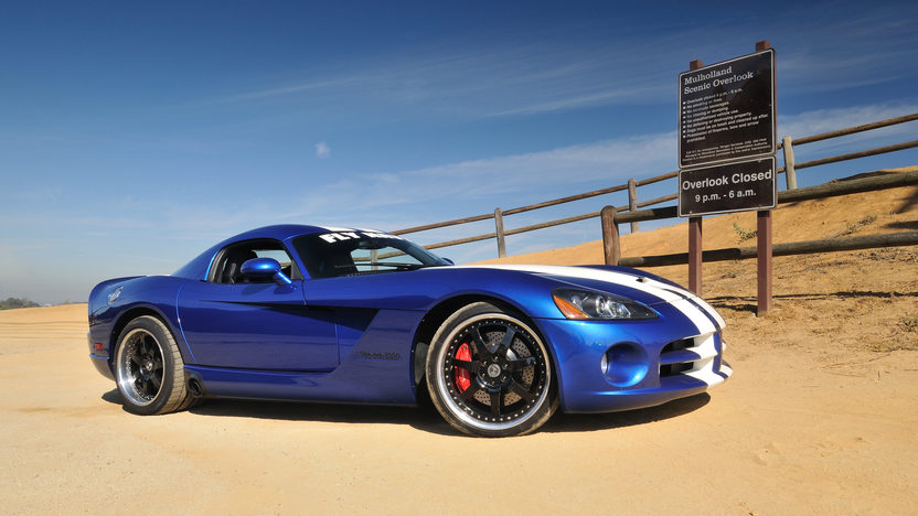 2006 Dodge Viper SRT/10 Coupe First Edition Hennessey Prepared 'Fly Navy' Venom 1000 presented as lot S169 at Anaheim, CA 2012 - image12