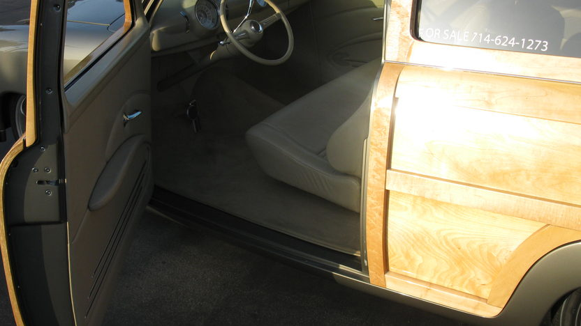 1951 Ford Woody Wagon 2005 GoodGuys and MSRA Custom of the Year presented as lot S184 at Anaheim, CA 2012 - image3